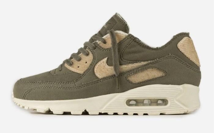 Maharishi x Nike Air Max 90, maha olive, august sneaker release