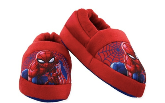 marvel Spider-Man Toddler Boys Plush Aline Slippers