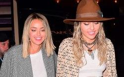 Miley Cyrus, Kaitlynn Carter, clear sneakers,