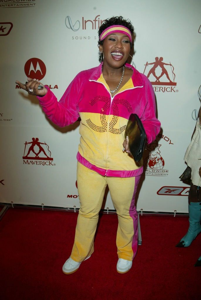 "Missy ElliottMTV AWARDS AT RADIO CITY MUSIC HALL, NEW YORK, AMERICA - 29 AUG 2002Missy ""Misdemeanor"" Elliot arriving to a post-party celebarting the 2002 MTV Video Music Awards at Cipriani 42nd Street in New York City on August 29, 2002 2002. (The even was hosted by Maverick Records and Sean ""P. Diddy"" Combs and was billed as ""The Greatest Party of All Time"").Manhattan, New YorkPhoto® Matt Baron/BEImages.net"