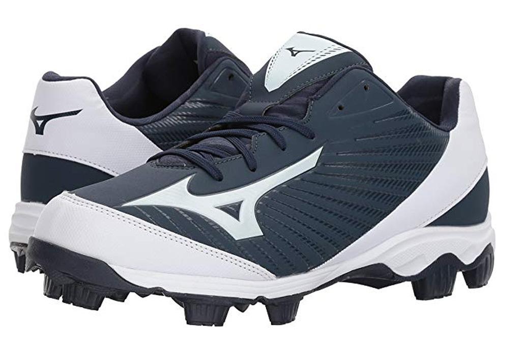 mizuno baseball cleats 9 spike, baseball shoes, rubber cleats