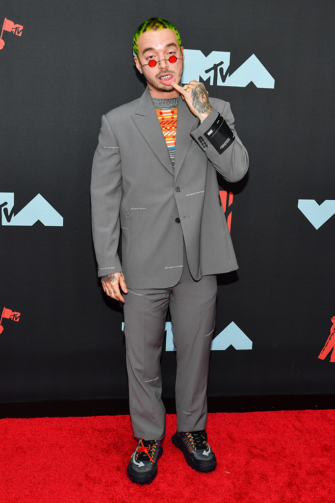 J BalvinMTV Video Music Awards, Arrivals, Prudential Center, New Jersey, USA - 26 Aug 2019