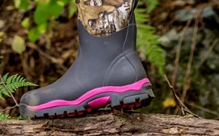 muck boots company, womens, camo, pink
