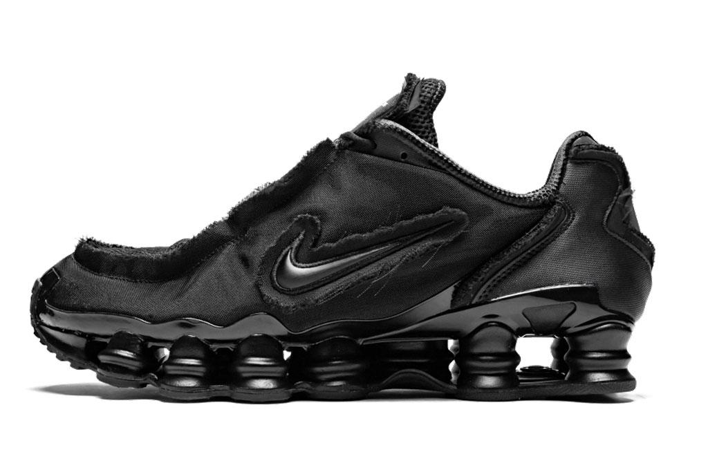 Nike x Comme des Garçons Shox TL sneakers