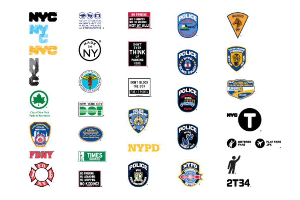 New York City logos