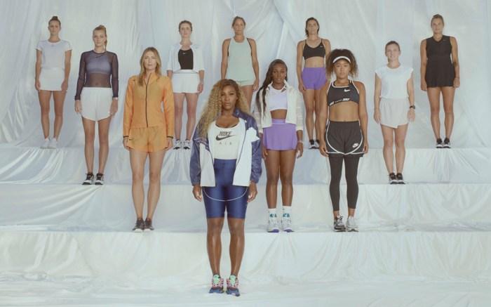 Nike women's tennis athletes