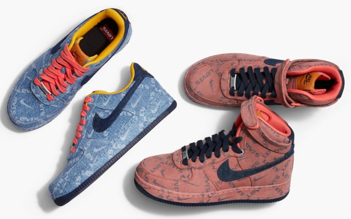 Nike x Levi's, sneaker collaboration