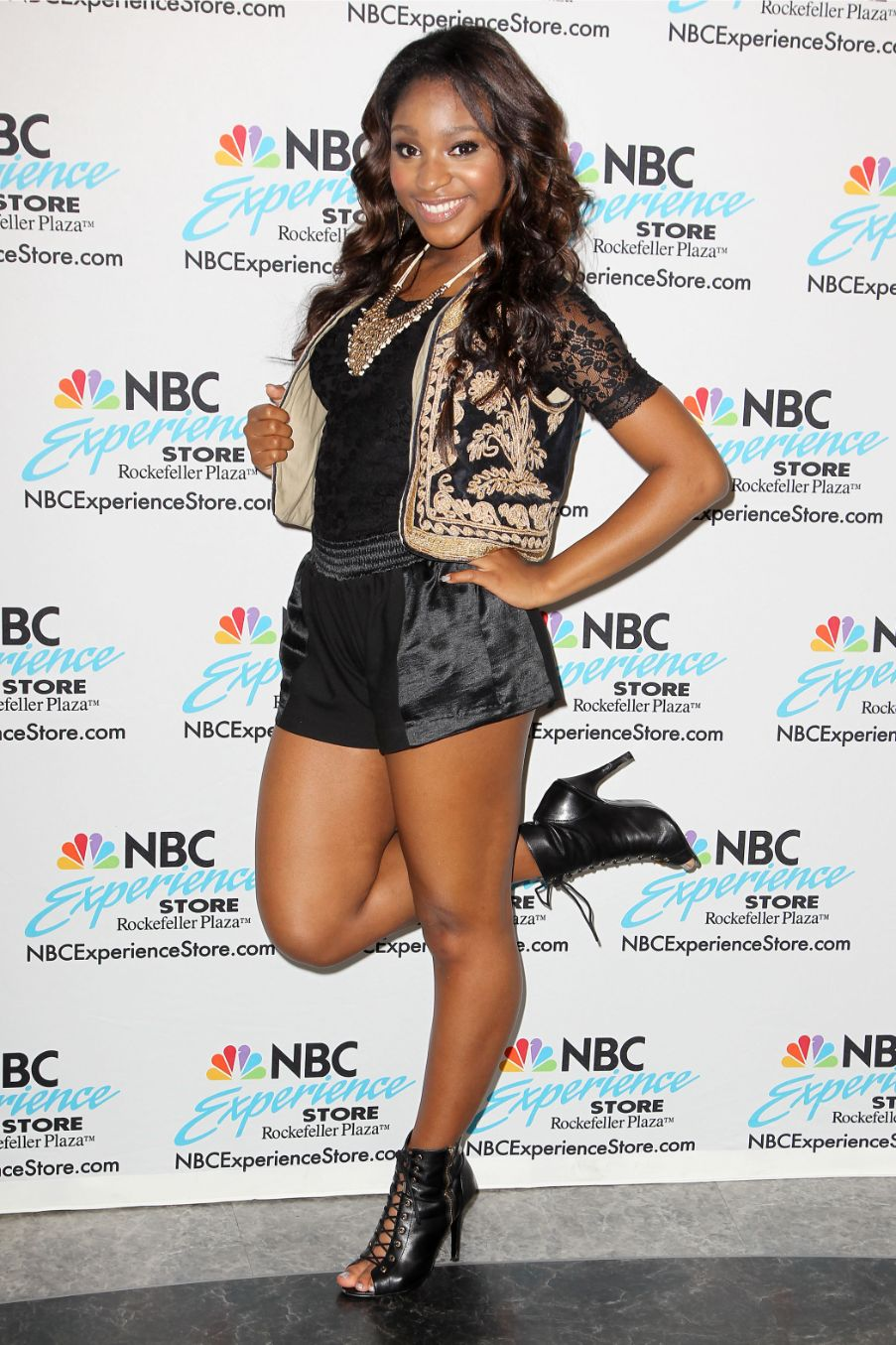 normani, 2013, nbc experience store, new york