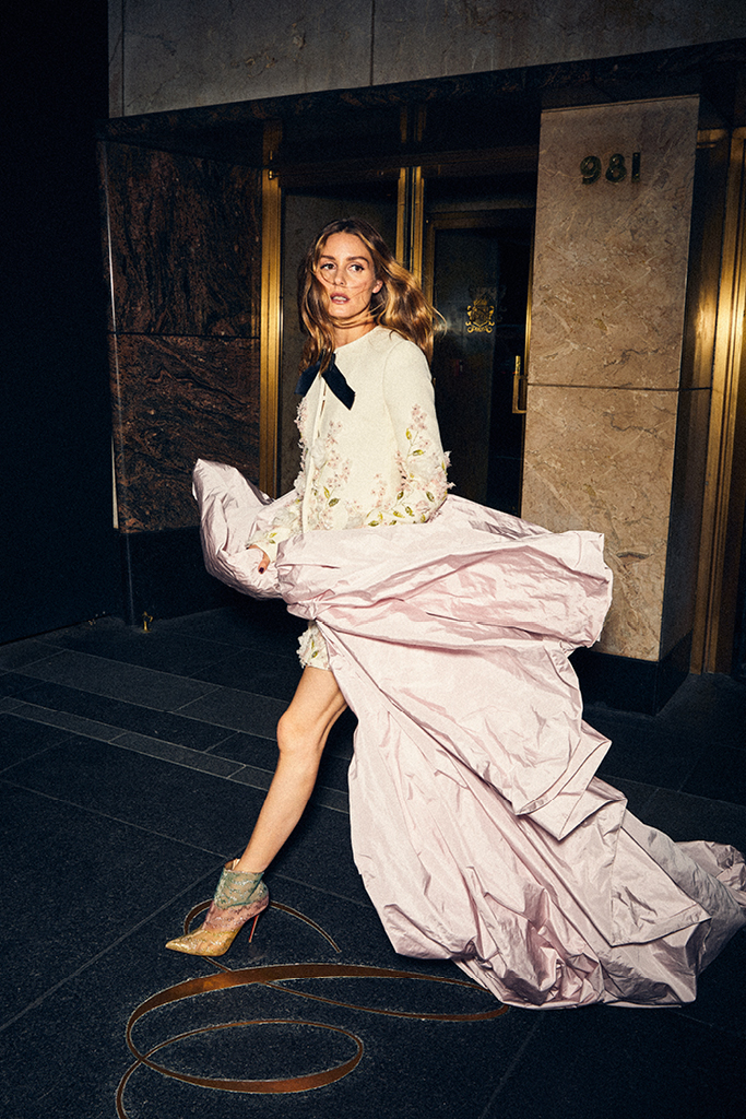 olivia, palermo, e-commerce, launch, retail, fashion, influencer, style, icon, christian, louboutin, giambattista, valli, carlyle, hotel, new, york