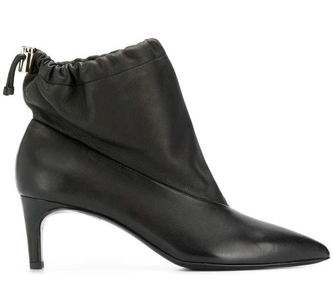 Philipp Lim Ruched Ankle Booties