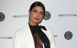 Priyanka Chopra arrives at BeautyconPictured: Priyanka