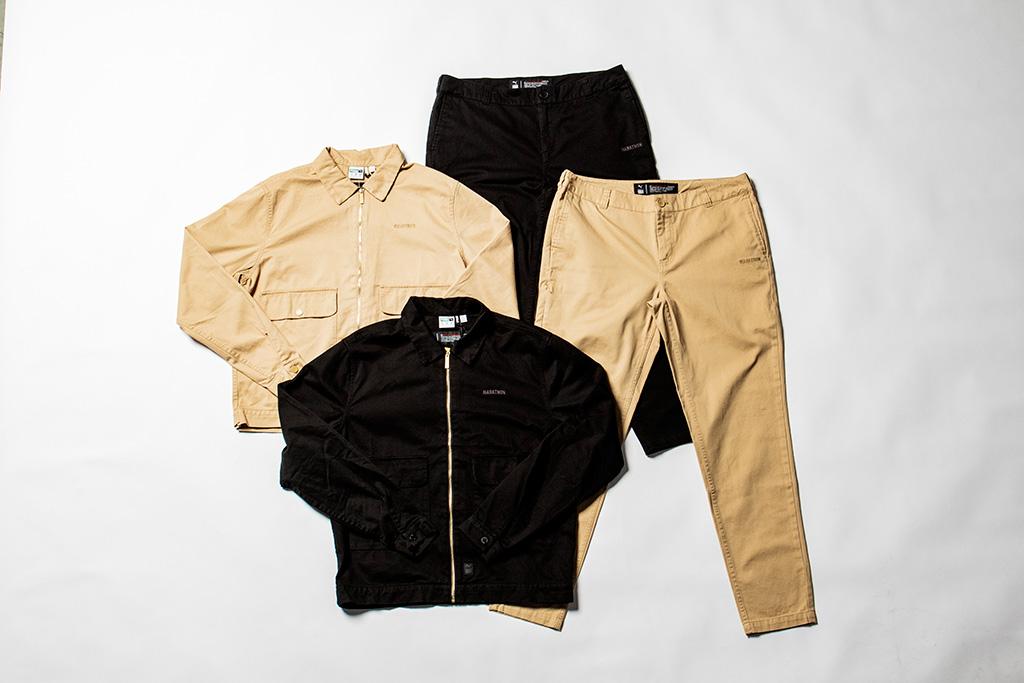 Puma TMC The Marathon Clothing, Nipsey Hussle collection, black, beige