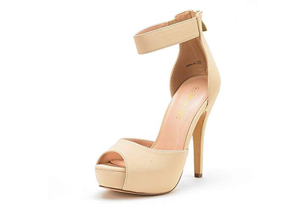 Dream Pairs, Swan, pumps, high heel, platform, dressy