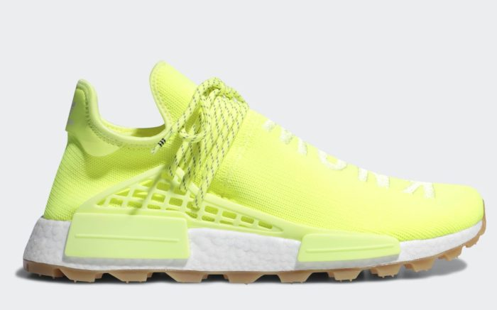Pharrell Williams x Adidas Originals Hu NMD 'Proud' Collection Solar Yellow