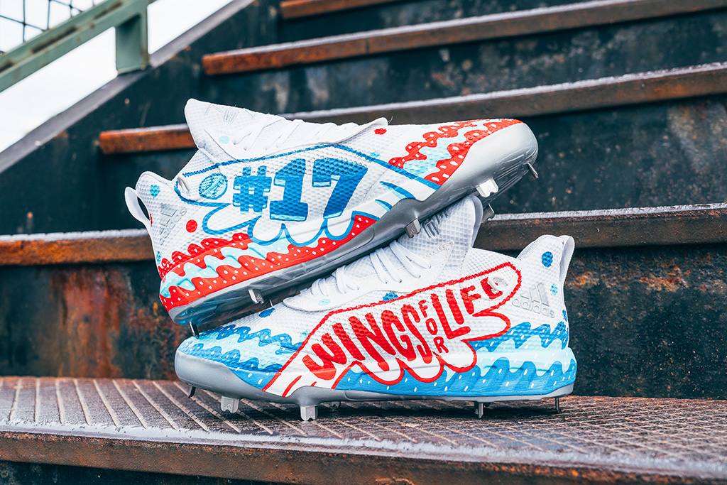 Kris Bryant, adidas, spinal cord charity, cleats