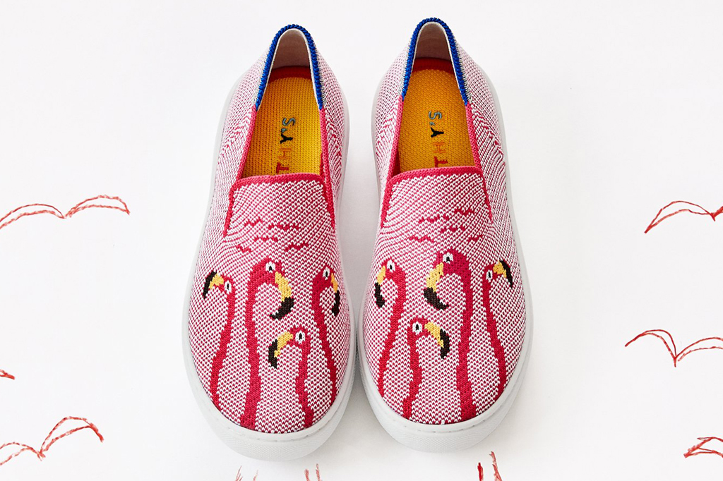 Rothy's Pete Oswald Kids Sneaker Collab