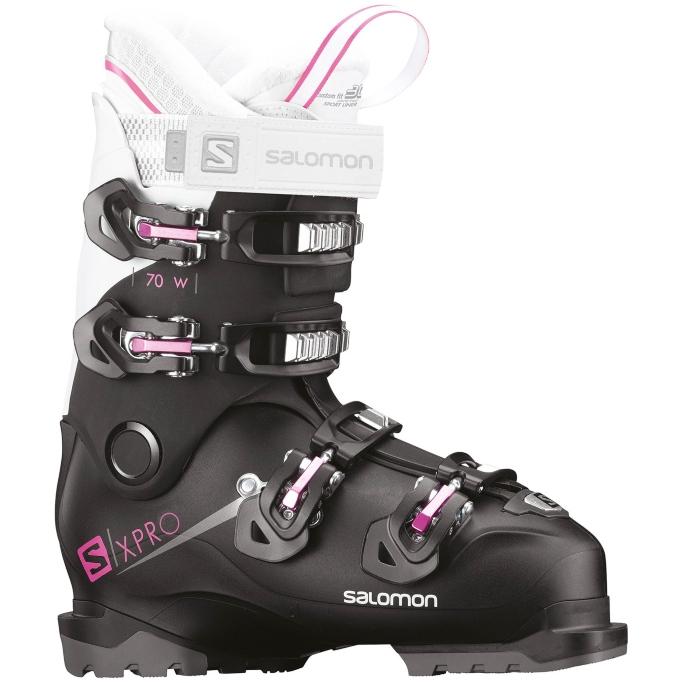 Salomon X Pro 70 W Ski Boots, womens, pink, black