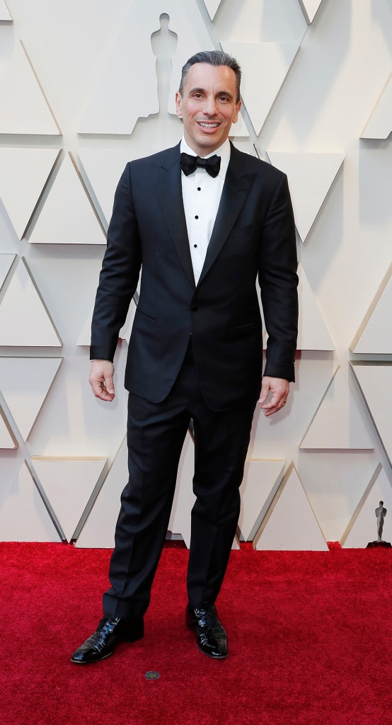 Sebastian Maniscalco arrives for the 91st annual Academy Awards ceremony at the Dolby Theatre in Hollywood, California, USA, 24 February 2019. The Oscars are presented for outstanding individual or collective efforts in 24 categories in filmmaking.Arrivals - 91st Academy Awards, Los Angeles, USA - 24 Feb 2019