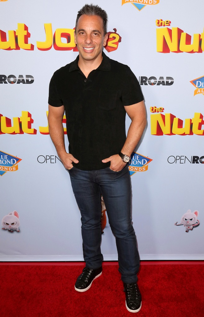 """Sebastian Maniscalco arrives at the LA Premiere of """"The Nut Job 2: Nutty by Nature"""", in Los AngelesLA Premiere of """"The Nut Job 2: Nutty by Nature"""", Los Angeles, USA - 05 Aug 2017"""