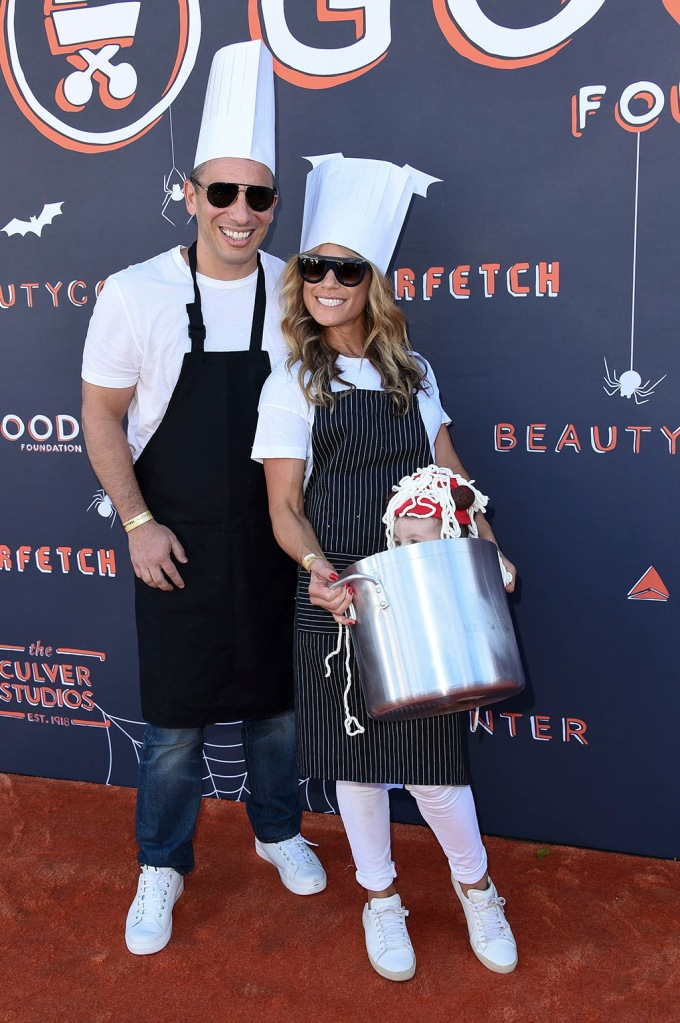 Sebastian Maniscalco and family attend the GOOD+ Foundation 2nd Annual Halloween Bash at The Culver Studios, in Culver City, CalifGOOD+ Foundation 2nd Annual Halloween Bash, Culver City, USA - 22 Oct 2017