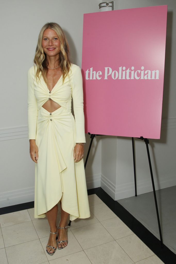 """Gwyneth Paltrow at screening for """"The Politician."""""""