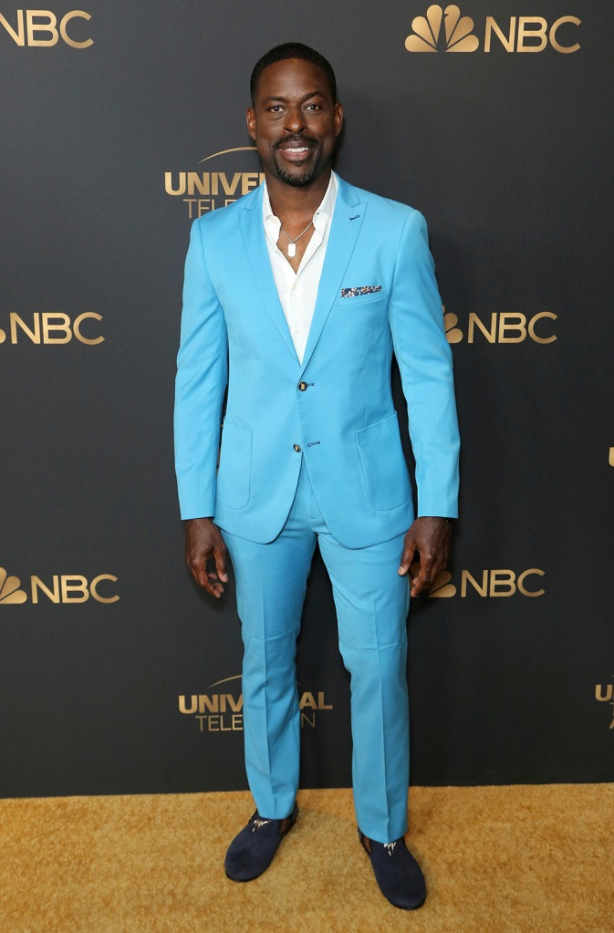Sterling K. Brown attends the NBC and Universal Television Emmy Nominee Celebration at Tesse, in West Hollywood, CalifNBC and Universal Television Emmy Nominee Celebration, West Hollywood, USA - 13 Aug 2019