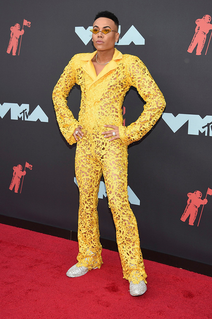 Bobby Lytes arrives at the MTV Video Music Awards at the Prudential Center, in Newark, N.J2019 MTV Video Music Awards - Arrivals, Newark, USA - 26 Aug 2019