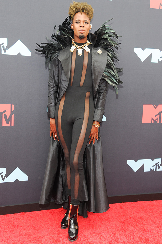 Prince Derek Doll arrives on the red carpet for the 2019 MTV Video Music Awards at Radio City Music Hall in New York, New York, USA, 26 August 2019.2019 MTV Video Music Awards in New York, USA - 26 Aug 2019