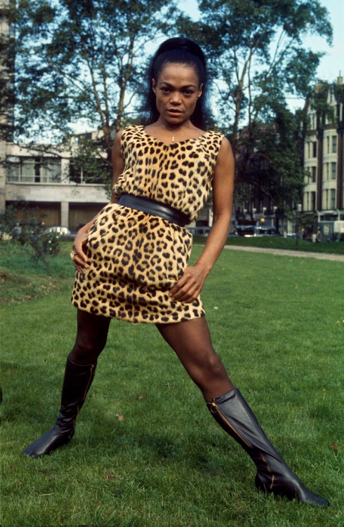 eartha, kitt, leopard print, dress