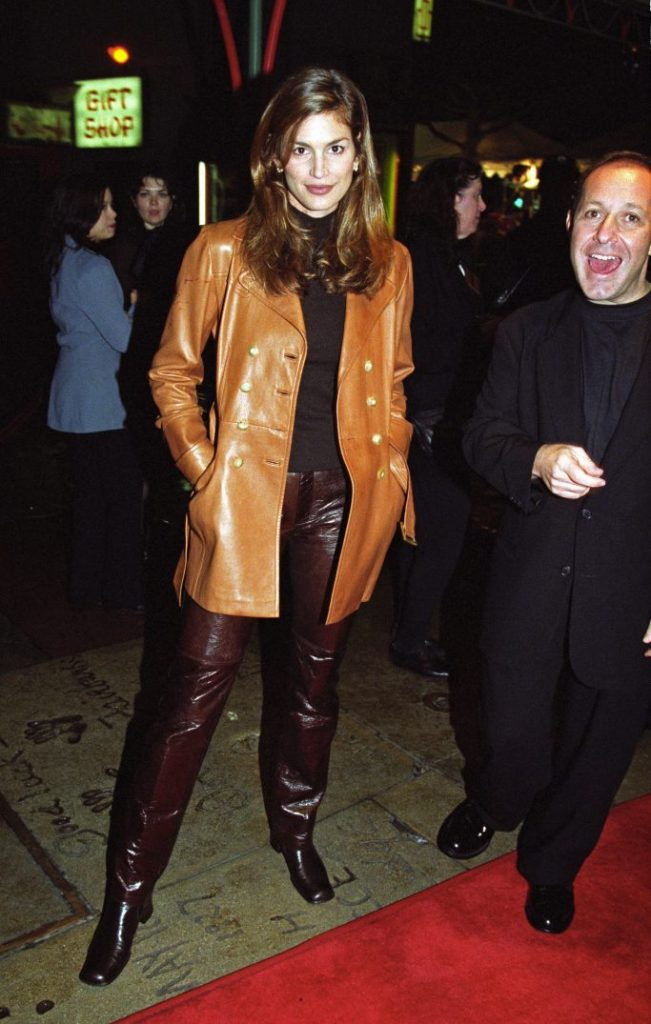 Cindy Crawford'Daylight' film premiere, Los Angeles, America - 06 Dec 1996