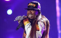 Missy Elliott is seen performing at