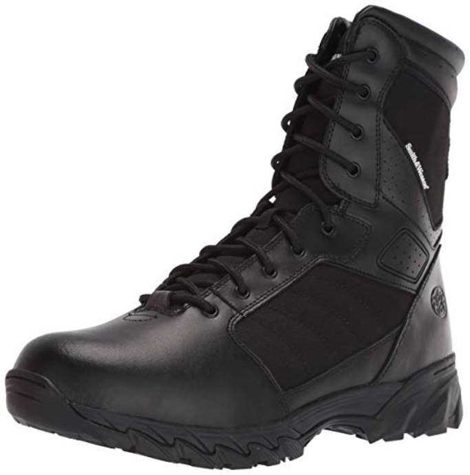 Smith & Wesson Men's Breach 2.0 Tactical Side Zip Boots