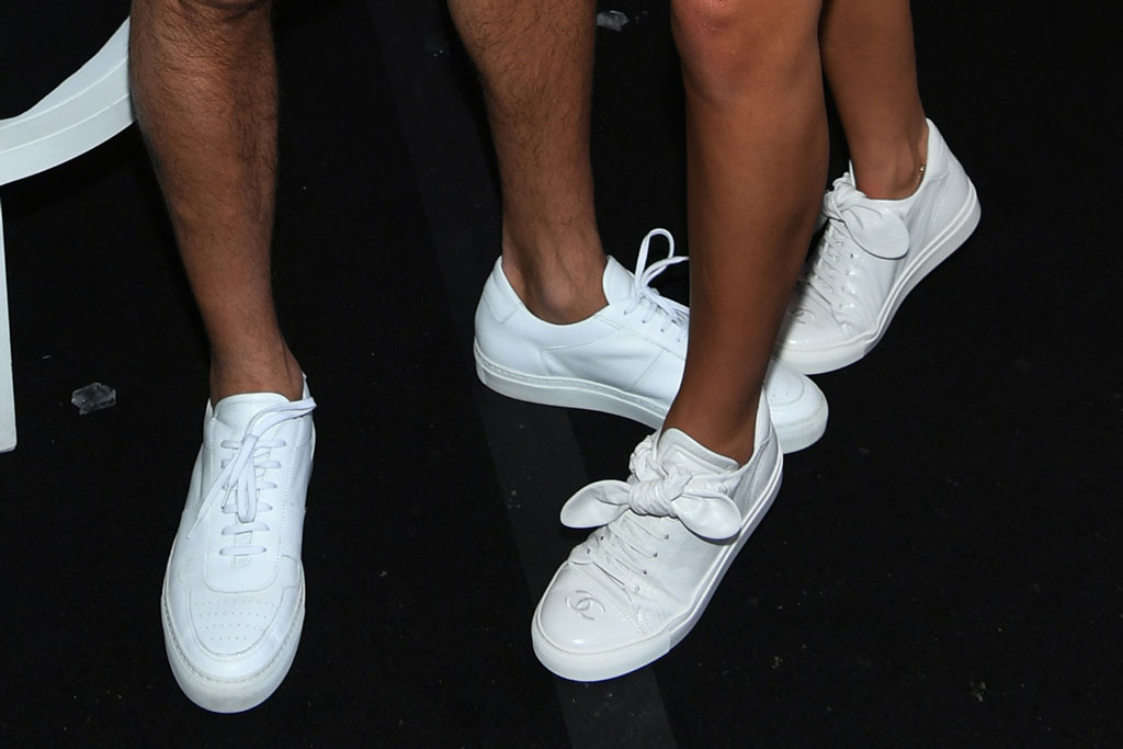 Sofia Richie, Scott Disick, celebrity style, chanel sneakers,