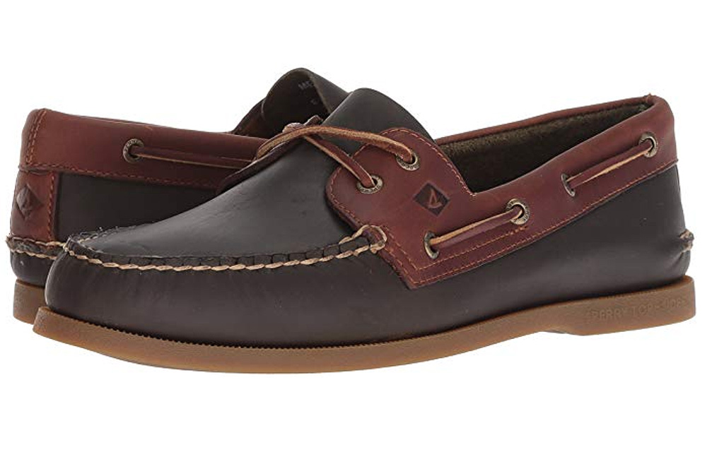 Sperry Mens A/O 2-Eye Pullup Shoe, boat shoes