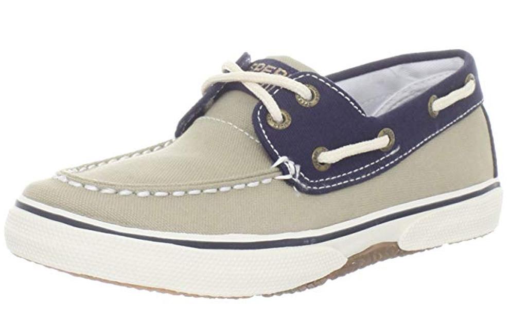 Sperry Halyard Boat Shoe, girls, canvas