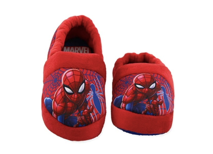 Spider-Man Toddler Boys Plush Aline Slippers