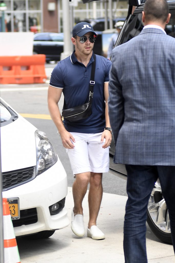 Nick Jonas heading out to pay Golf this morning in new York City ahead of his Boston ConcertPictured: Nick JonasRef: SPL5109717 170819 NON-EXCLUSIVEPicture by: Elder Ordonez / SplashNews.comSplash News and PicturesLos Angeles: 310-821-2666New York: 212-619-2666London: 0207 644 7656Milan: +39 02 56567623photodesk@splashnews.comWorld Rights, No Portugal Rights