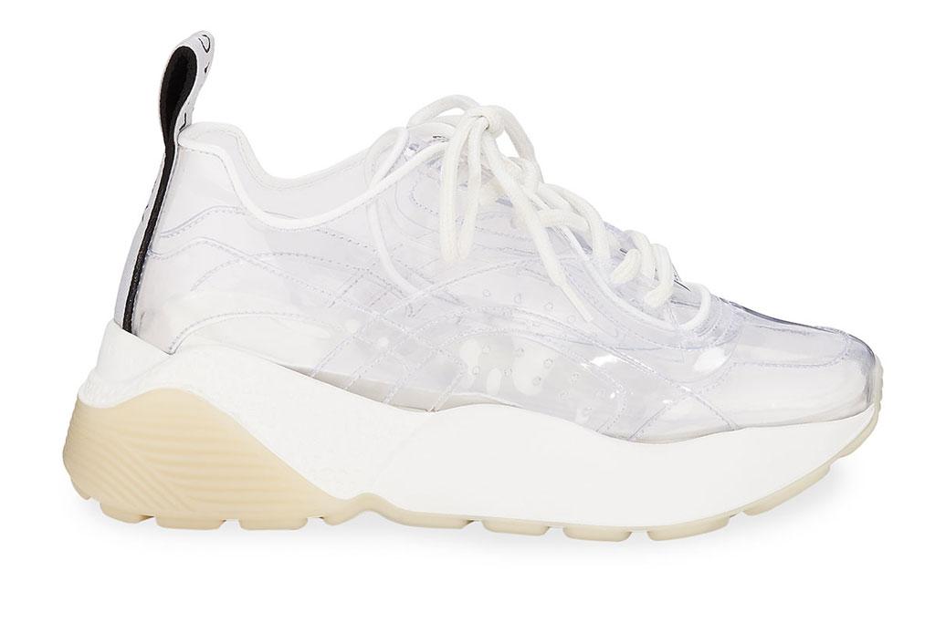 Stella McCartney Eclypse clear chunky sneakers