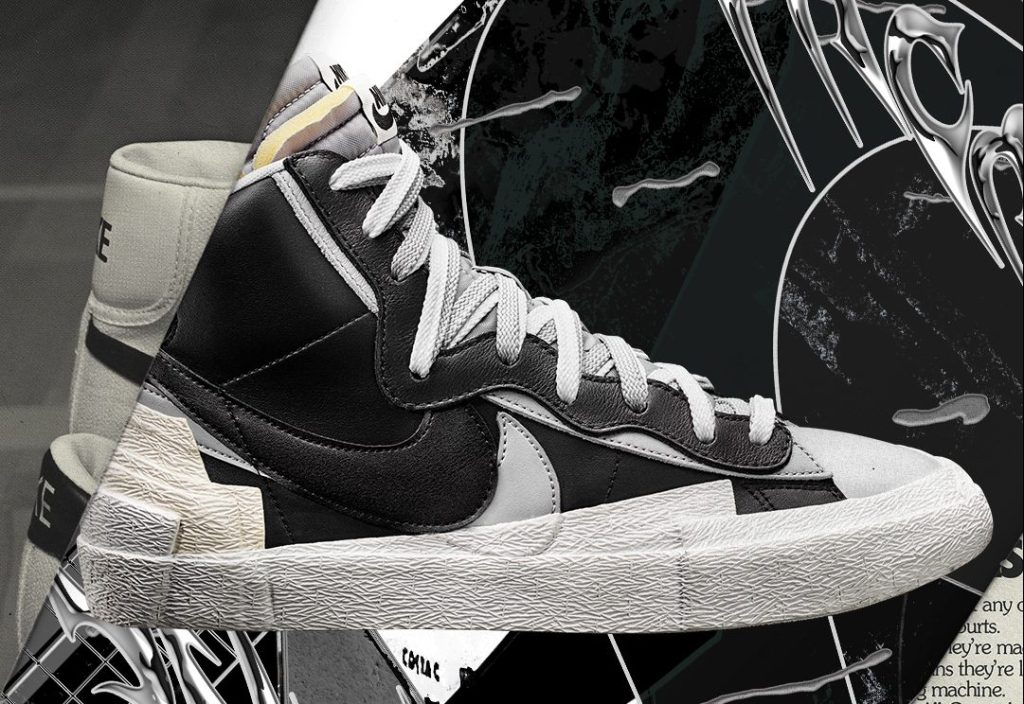 Sacai x Nike Blazer High Black