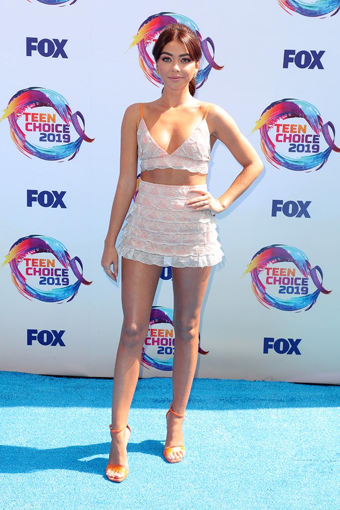 Sarah HylandTeen Choice Awards, Arrivals, Los Angeles, USA - 11 Aug 2019