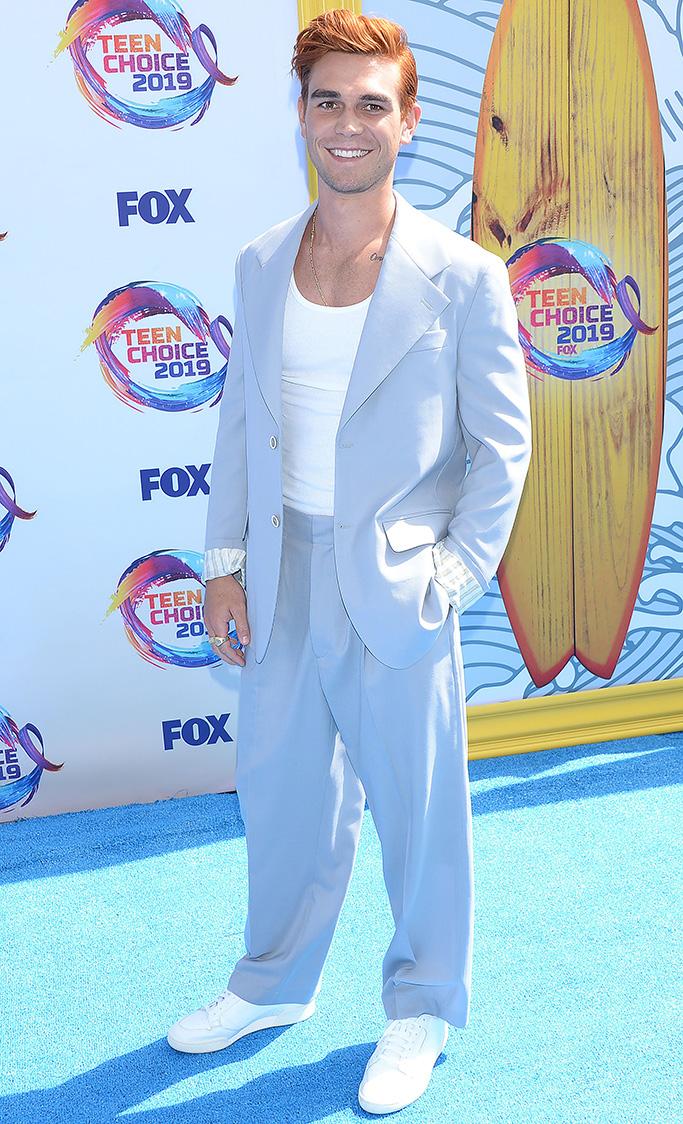 KJ Apa Teen Choice Awards, Arrivals, Los Angeles, USA - 11 Aug 2019