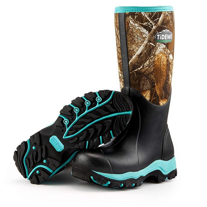 tidewe hunting boots womens, waterproof, cute