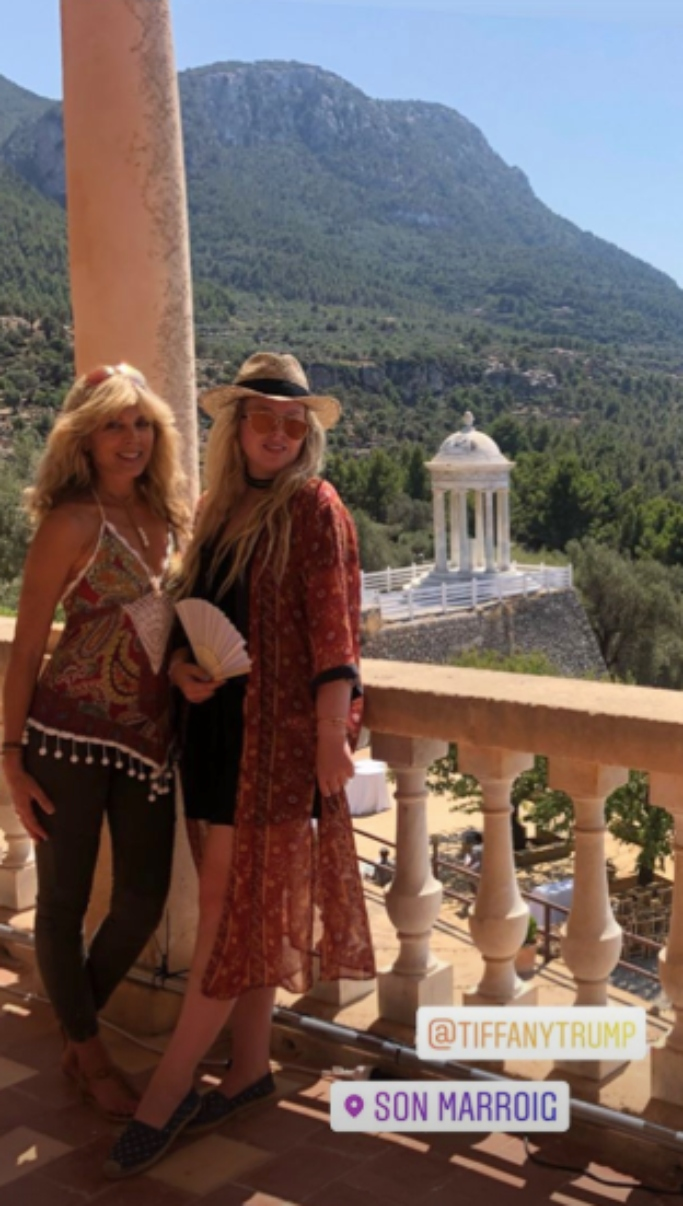 tiffany trump and marla maples vacation