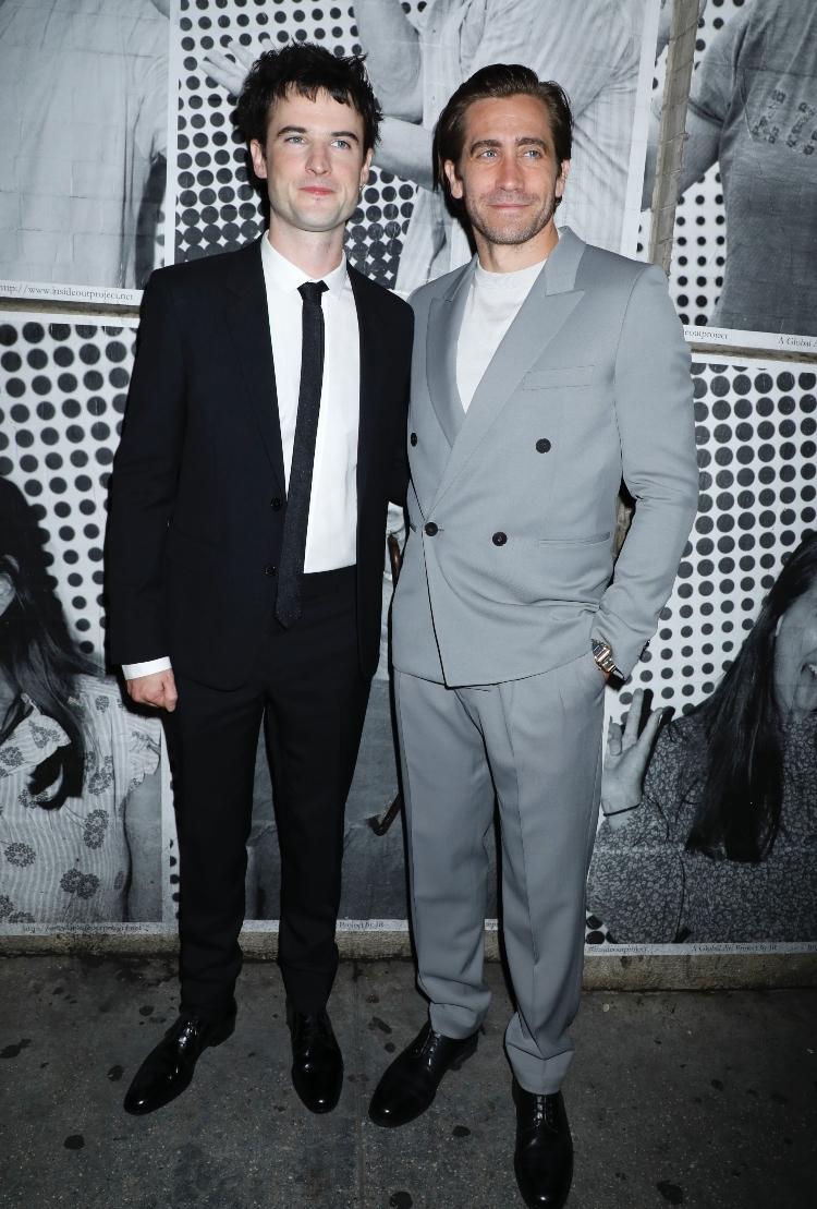 Tom Sturridge, Jake Gyllenhaal, sea wall/a life, broadway