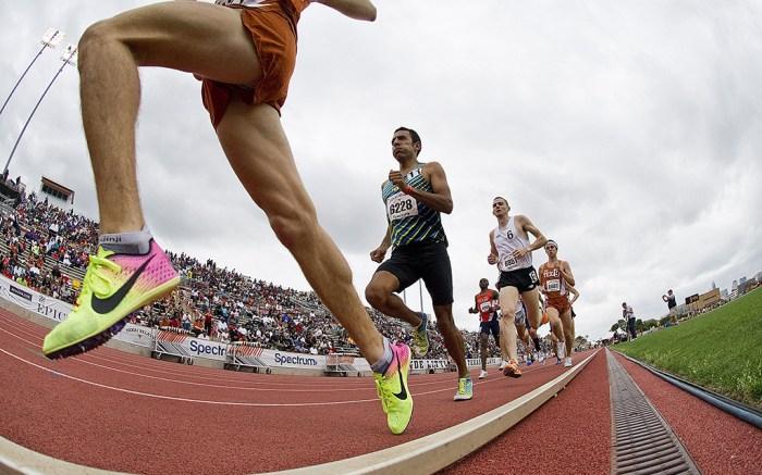 Sprinters Running Runners Track
