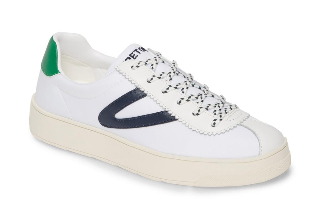 Tretorn Women's Hayden Sneaker, White sneakers, Reese Witherspoon sneakers