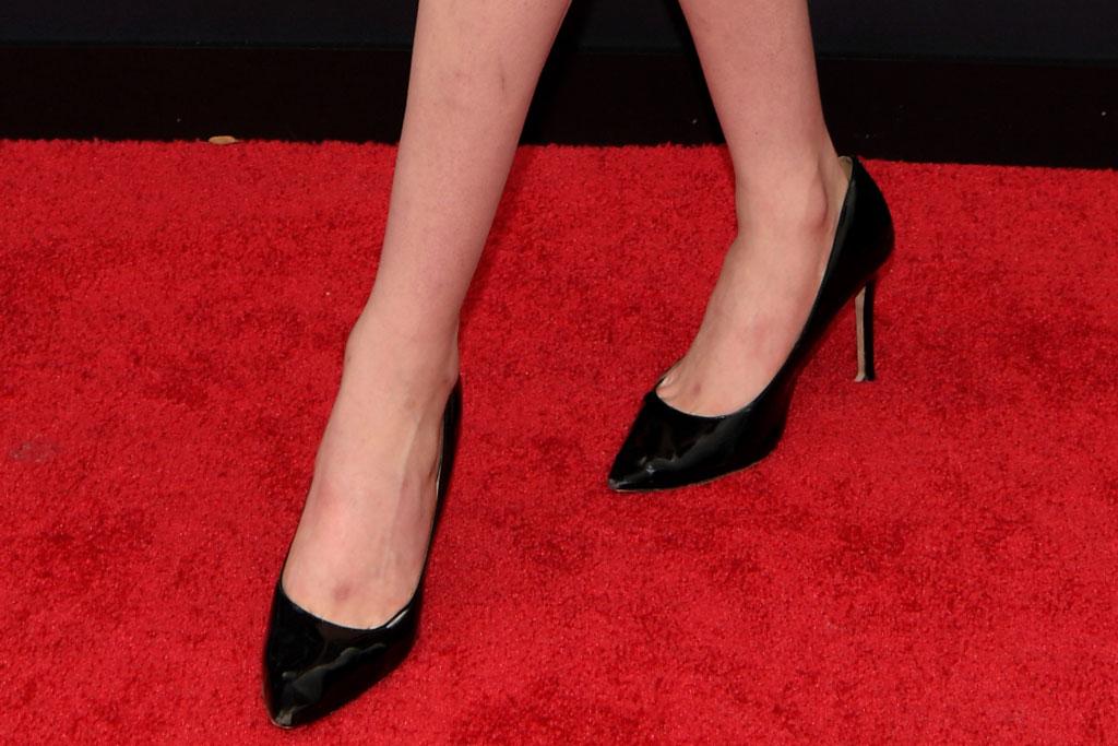 Trevor Moran, heels, stilettos, classic black pumps, man in dress, celebrity style, Moschino, high heels, stilettos, pumps, MTV Video Music Awards, Arrivals, Fashion Highlights, Prudential Center, New Jersey, USA - 26 Aug 2019