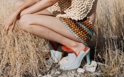 Ugg Eckhaus Latta collaboration collection, heels,