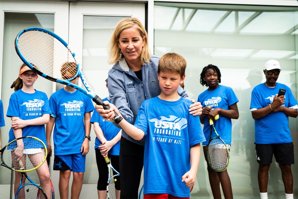 USTA Chris Evert Kids Tennis