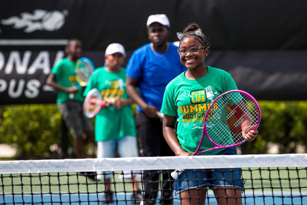 USTA's National Junior Tennis Learning Kids